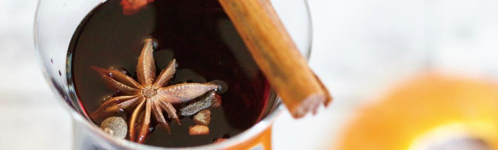 シナモン入りのお茶・紅茶の画像