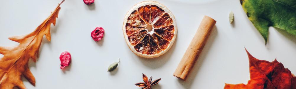 シナモンとドライオレンジの画像