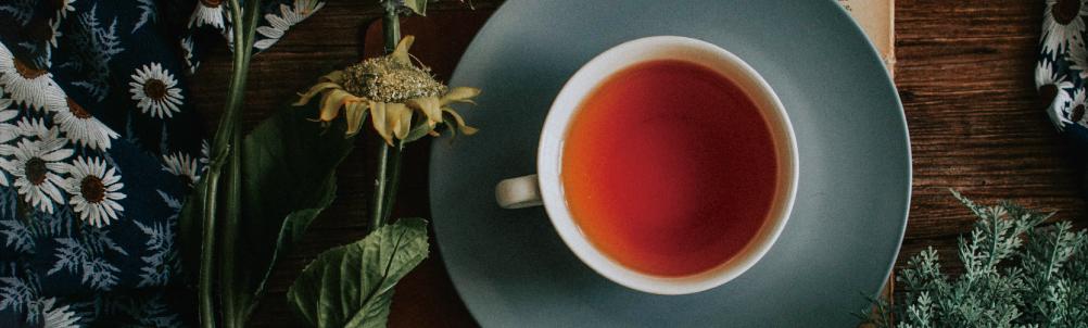 リラックスタイム・紅茶の画像