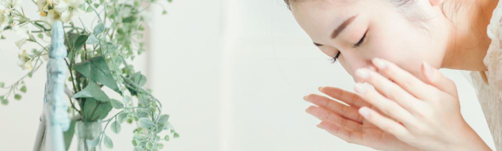 洗顔スキンケアの画像