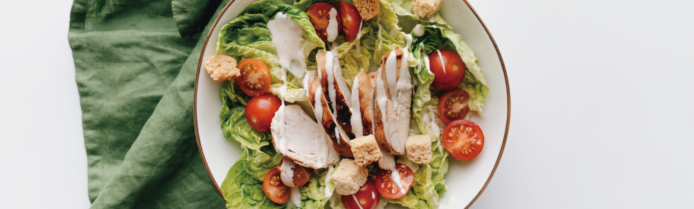 チキンサラダの画像